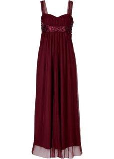 Макси-платье (кленово-красный) Bonprix