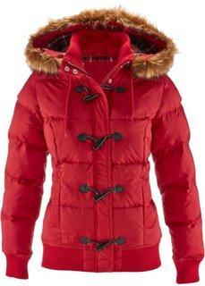 Куртка дафлкот (темно-красный) Bonprix