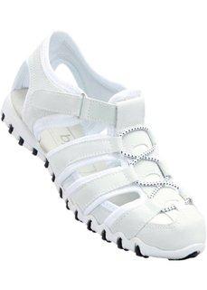 Кроссовки с отверстиями (белый) Bonprix