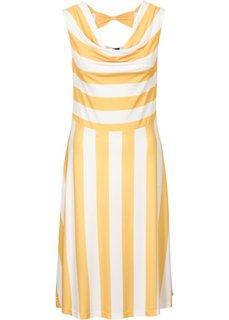 Платье (солнечно-желтый/белый в полоску) Bonprix