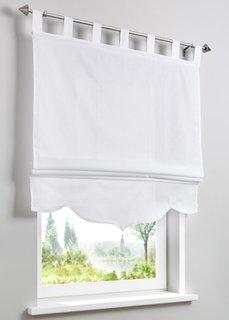 Римская штора Джамаль, петли (белый) Bonprix
