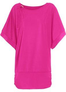 Пляжное платье из купального материала (ярко-розовый) Bonprix