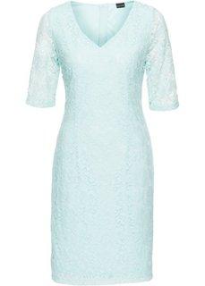 Кружевное платье (полярно-мятный) Bonprix