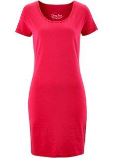 Платье стретч (красный) Bonprix