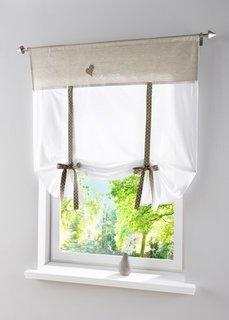 Римская штора Эшли, кулиска (натуральный) Bonprix