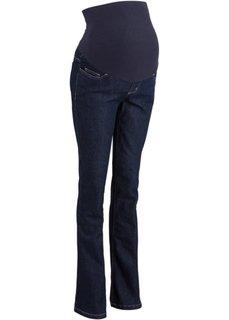 Мода для беременных: эластичные расклешенные джинсы (темный деним) Bonprix