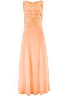 Кружевное платье (светлый персиковый) Bonprix