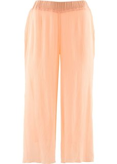 Шифоновые брюки длины 3/4 (светлый персиковый) Bonprix