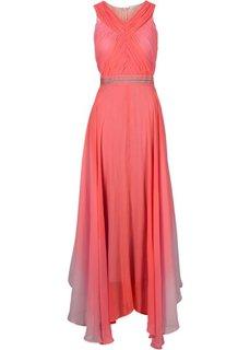 Макси-платье (коралловый) Bonprix