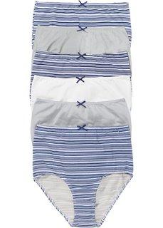 Высокие трусики (ночная синь в полоску) Bonprix