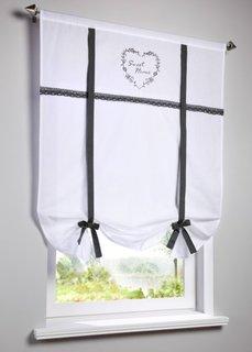 Римская штора Зои, кулиска (серый) Bonprix