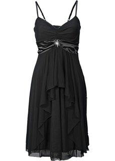 Вечернее платье в стиле ампир (черный) Bonprix