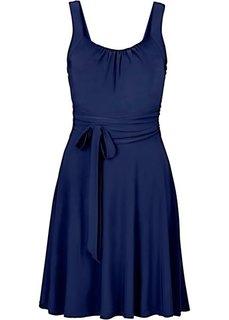 Коктейльное платье (темно-синий) Bonprix