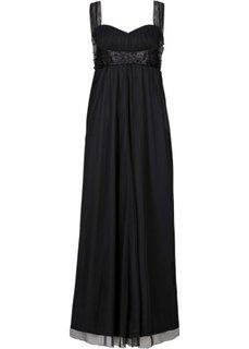 Макси-платье (черный) Bonprix