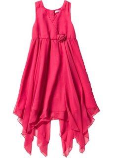 Шифоновое платье (ярко-розовый) Bonprix