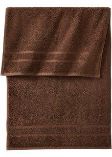 Комплект полотенец Нью Уни Делкюс (10 шт.) (коричневый) Bonprix