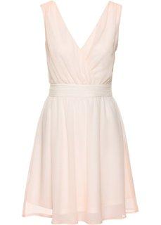 Шифоновое платье с переходом оттенков (светло-персиковый/кремовый) Bonprix
