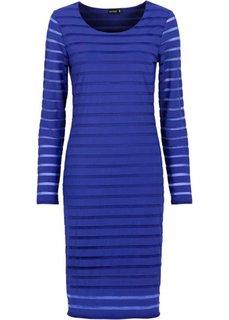 Трикотажное платье (сапфирно-синий) Bonprix