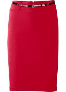 Юбка (красный) Bonprix