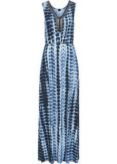 Макси-платье (синий батик) Bonprix