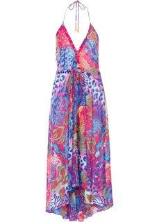 Пляжное платье (ярко-розовый/синий) Bonprix