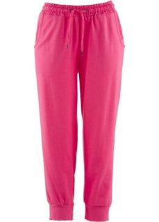 Трикотажные бриджи (горячий ярко-розовый) Bonprix