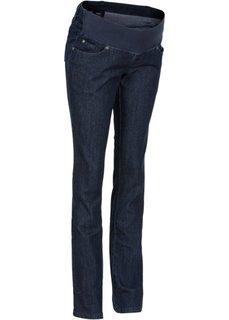 Мода для беременных: прямые джинсы (темный деним) Bonprix