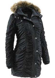 Для будущих мам: зимняя куртка (черный) Bonprix