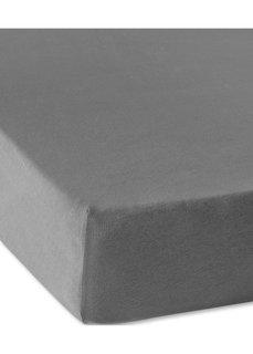 Трикотажная натяжная простыня для матраса высотой 40 см (антрацитовый) Bonprix