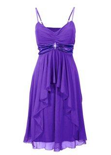 Вечернее платье в стиле ампир (лиловый) Bonprix