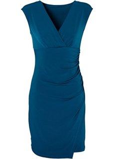 Платье (серо-синий) Bonprix