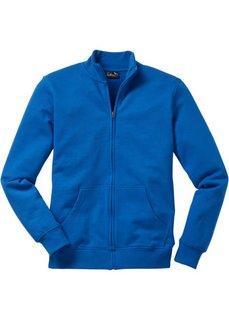 Трикотажная куртка стандартного покроя (лазурный) Bonprix