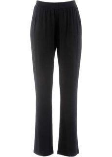 Трикотажные брюки-стретч (черный) Bonprix