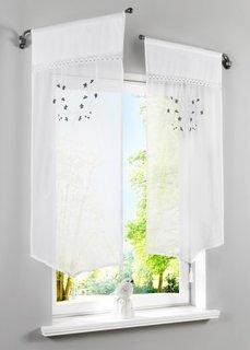 Короткая штора Лиза, кулиска (белый) Bonprix
