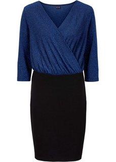 Блестящее платье (темно-синий) Bonprix
