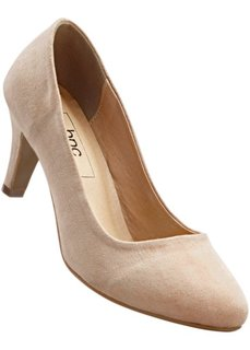 Туфли-лодочки на каблуке (бежевый) Bonprix