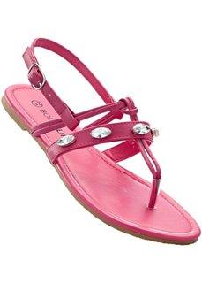 d9d9560bd Сандалии с перемычкой для большого пальца (ярко-розовый) Bonprix