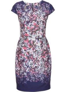 Платье (различные расцветки в цветочек) Bonprix