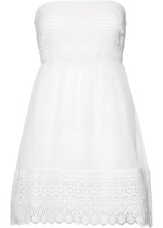 Пляжное платье в стиле бандо (кремовый) Bonprix