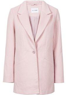 Жакет в дизайне под шерстяной (розовый) Bonprix
