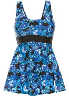 Купальное платье (синий с рисунком) Bonprix
