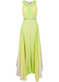 Макси-платье (цвет киви) Bonprix