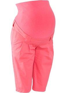 Для будущих мам: бермуды (нежный ярко-розовый) Bonprix