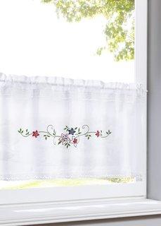Кухонная штора Таня (белый/разноцветный) Bonprix