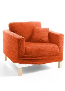 Чехол для мягкой мебели Кринкл (терракотовый) Bonprix