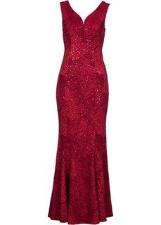 Вечернее платье (красный) Bonprix
