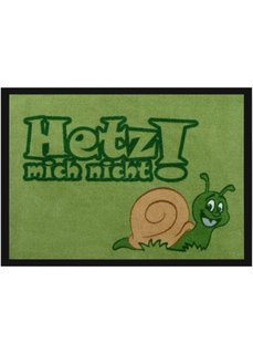 Дверной коврик Улитка (зеленый) Bonprix
