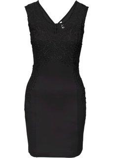Праздничное платье (черный) Bonprix