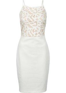 Вечернее платье (кремовый) Bonprix