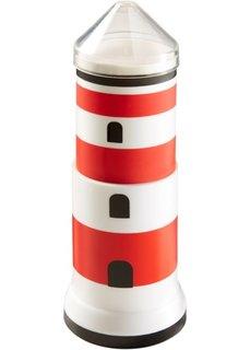Подставка для ватных палочек Маяк (красный/белый/черный) Bonprix